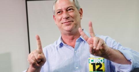 Placeholder - loading - Imagem da notícia Em 3º nas pesquisas, Ciro pede chance para unir Brasil no 2º turno