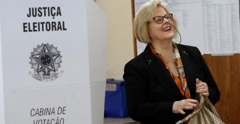 Placeholder - loading - Imagem da notícia Justiça Eleitoral diz que vídeo em que urna 'auto completa' voto é falso