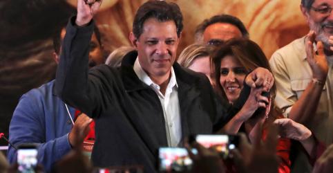 Placeholder - loading - Queremos unir os democratas do Brasil, diz Haddad após confirmação de 2º turno com Bolsonaro