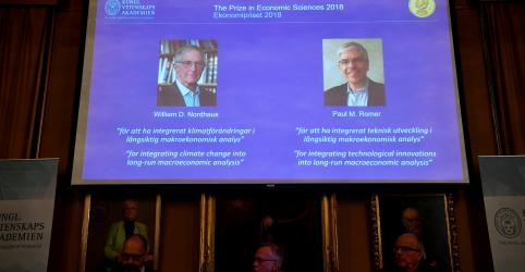 Teoria econômica sobre mudança climática rende Nobel a dupla dos EUA