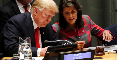Placeholder - loading - Imagem da notícia Trump aceita renúncia de embaixadora dos EUA na ONU, diz fonte