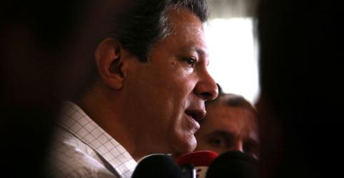 Placeholder - loading - Imagem da notícia Haddad diz que busca recompor campo democrático de centro-esquerda para 2º turno
