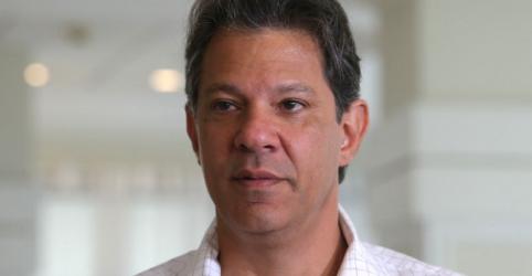 Haddad diz que, se eleito, Fazenda será comandada por nome ligado à produção, não por banqueiro