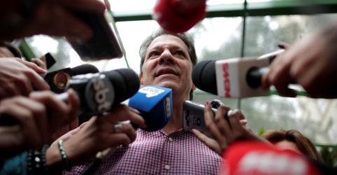 Placeholder - loading - Imagem da notícia Haddad diz que não interessa a ninguém eleição fraudada por informações falsas