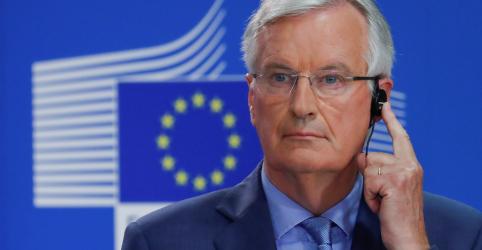 Placeholder - loading - Imagem da notícia Negociador da UE diz que acordo do Brexit pode estar 'ao alcance' na próxima semana