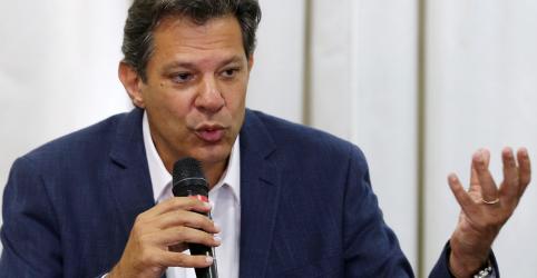 Juro precisa ser menor que os lucros, diz Haddad