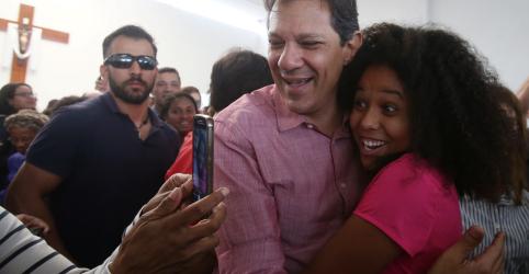 Bolsonaro é violência, bala e desrespeito, diz Haddad