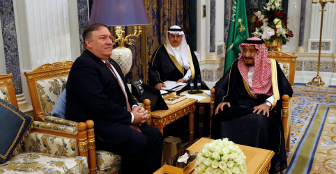 Placeholder - loading - Imagem da notícia Pompeo debate caso Khashoggi com rei saudita; Turquia investiga 'materiais tóxicos'