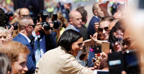 Placeholder - loading - Imagem da notícia Austrália festeja casal real após anúncio de gravidez de Meghan