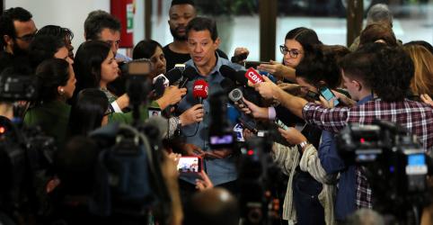 Placeholder - loading - Haddad admite que é preciso aparar arestas após críticas de Cid Gomes ao PT