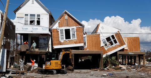 Mais de 1 mil pessoas continuam desaparecidas nos EUA uma semana após furacão Michael
