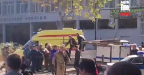 Ataque a instituição de ensino da Crimeia deixa ao menos 18 mortos
