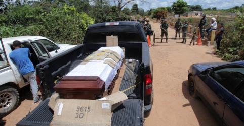 Placeholder - loading - Imagem da notícia Familiares dizem que 7 venezuelanos foram assassinados em mina de ouro remota