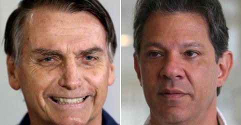 Bolsonaro tem 59% dos votos válidos, contra 41% de Haddad, diz Datafolha