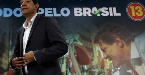 Haddad minimiza pesquisas e diz que, se TSE apurar denúncias contra Bolsonaro, chance de virada aumenta