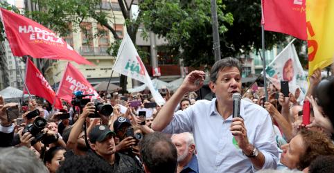 Haddad faz aceno a militares e diz que generais não evitarão 'maluquices' de Bolsonaro em eventual governo