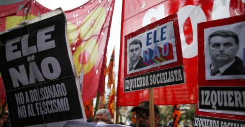 Manifestantes fazem novo protesto contra Bolsonaro em cidades do país