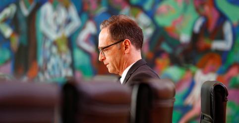 Ministro alemão diz que EUA devem pesar consequências de saírem de tratado nuclear