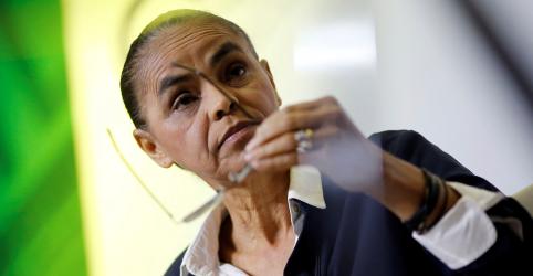 Marina declara 'voto crítico' em Haddad diante de 'risco iminente'