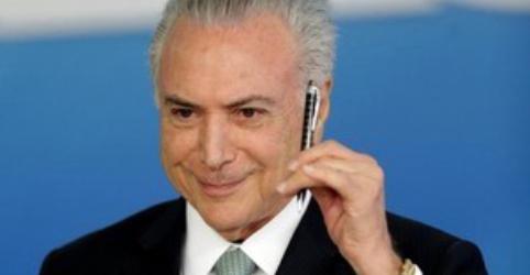 Governo libera R$1 bilhão para inaugurar obras ainda no mandato de Temer