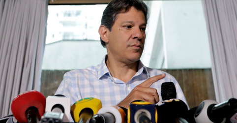 Placeholder - loading - Haddad diz que exterior reconhece melhor riscos que Brasil corre com Bolsonaro