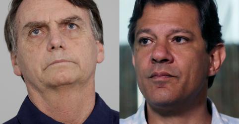 Placeholder - loading - Imagem da notícia Pesquisa CNT/MDA aponta eleição de Bolsonaro no domingo com 56,8% dos votos válidos