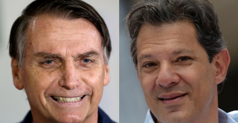 Placeholder - loading - Imagem da notícia Bolsonaro tem 55% dos votos válidos e Haddad soma 45%, diz Datafolha