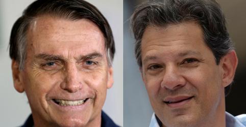 Placeholder - loading - Bolsonaro tem 55% dos votos válidos e Haddad soma 45%, diz Datafolha