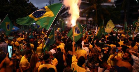 Placeholder - loading - Em discurso da vitória, Bolsonaro diz que seu governo defenderá a Constituição e a democracia