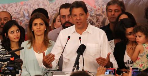 Haddad diz que responsabilidade agora é fazer oposição pelo interesse dos brasileiros