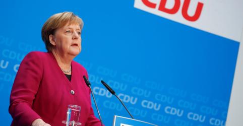 Merkel confirma que não vai buscar reeleição como líder da CDU e chanceler da Alemanha