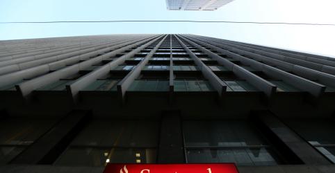 Santander Brasil despenca 5% após balanço do 3º tri com sinais de fraqueza