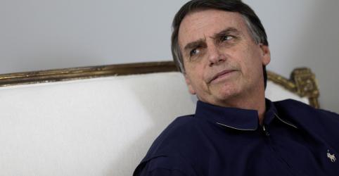 Placeholder - loading - Bolsonaro reconhece que trabalho de Moro o ajudou a crescer politicamente