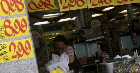 Economistas reduzem projeção para inflação este ano a 4,4%, com pressão menor de administrados, mostra Focus