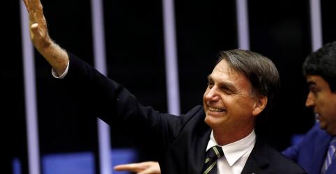 Placeholder - loading - Bolsonaro volta à Câmara sob forte segurança e aponta Constituição como único norte