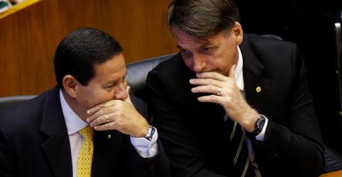 Placeholder - loading - Imagem da notícia Bolsonaro diz que pretende anunciar ministério completo até fim do mês