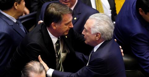 Temer convida Bolsonaro para cúpula do G20 na Argentina