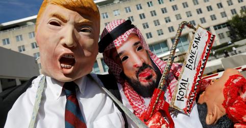 Placeholder - loading - Imagem da notícia EXCLUSIVO-Assassinato de Khashoggi complica ainda mais plano de Trump para 'Otan árabe', dizem fontes