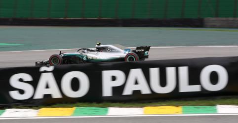 Bottas é o mais rápido em treino livre para GP Brasil
