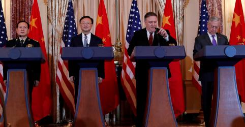 Placeholder - loading - Imagem da notícia EUA pressionam China para conter militarização no Mar do Sul da China