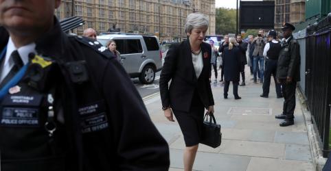 Gabinete britânico vai se reunir na 4ª-feira após acerto sobre texto do Brexit