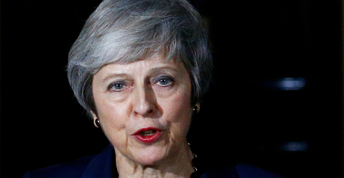 Placeholder - loading - Gabinete britânico apoia plano de Theresa May para o Brexit