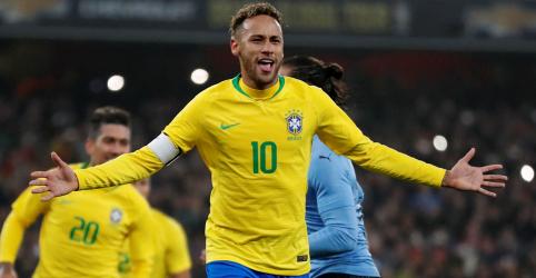Brasil vence Uruguai com gol de pênalti de Neymar