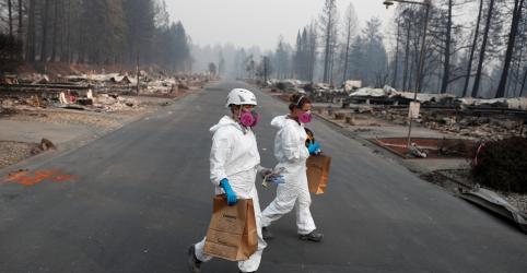 Busca por 1.276 desaparecidos continua após incêndio florestal mais mortal da Califórnia