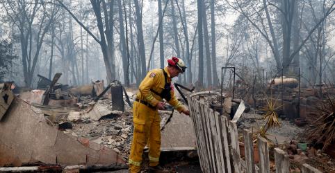 Placeholder - loading - Imagem da notícia Quase 1.000 ainda estão desaparecidos após pior incêndio florestalda Califórnia