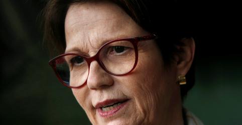 Tereza Cristina diz que 'cumpriu legislação' ao conceder incentivos fiscais à JBS