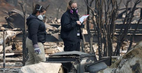 Chuvas podem dificultar buscas por vítimas de incêndios na Califórnia