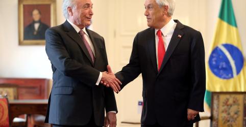 Brasil e Chile assinam acordo comercial para impulsionar investimentos e reforçar integração regional