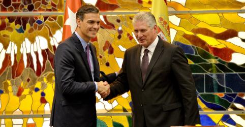 Premiê da Espanha promete laços mais estreitos com Cuba durante visita histórica