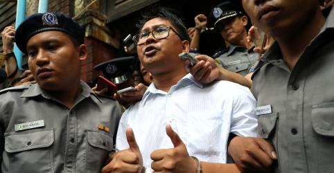 Jornalistas e advogados de Mianmar expressam preocupação com prisão de repórteres da Reuters